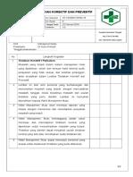 Daftar Tilik Tindakan Korektif Peventif Pkl Tengah