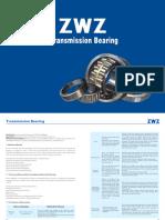 ZWZ Transmission Bearing Catalogue