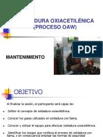 PROCESO DE SOLDADURA OXIACETILÉNICA 1.ppt