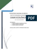 Proyecto Casas Ecologicas