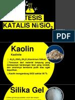 Catalyst NiSiO2 Dari Kaolin