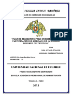 Plan de Marketing Para Clinica Bellmed c Plastica
