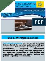 tutorial worldwidescience