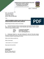 Surat Jemputan Penceramah Azrul