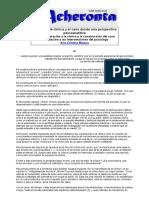 Acheronta 21 - Acerca de la clínica y e...a psicoanalítica - Ana Cristina Bianco