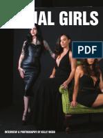 The Final Girls - Horror's Hottest Scream Queens [Danielle Harris, Erin Marie Hogan, Victoria de Mare, Pandie Suicide Interview] [From Hustler - January 2017]