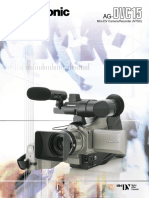 manual panasonic AG-DVC15