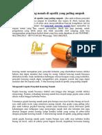 5 Obat Kencing Nanah Di Apotik Yang Paling Ampuh