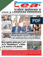 Periódico Lea Lunes 03 de Septiembre Del 2018