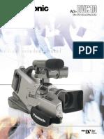 manual camara AG-DVC10