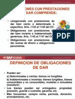 3. Obligaciones de Dar