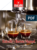 Italcaffe Barista Manual 2010