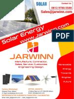 Katalog Produk Solar Jarwinn
