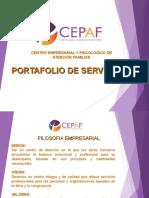 Portafolio de Servcicios Cepaf