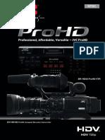 manual JVC GY-HD100U