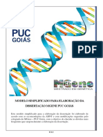 Modelo Simplificado Para Elaboração Da Dissertação Mgene Puc Goiás