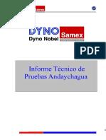 Informe Andaychagua Marzo 28 2006