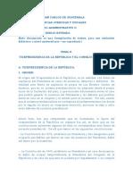 Tema II La Vicepresidencia de La Republica y El Consejo de Ministros