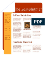 Jan 2010 Lamplighter Newsletter, LaFayette Alliance Church
