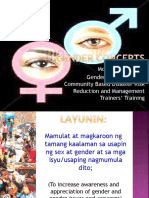 Module 1 Session 2 Gender Concepts