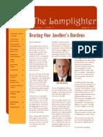 Mar 2010 Lamplighter Newsletter, LaFayette Alliance Church