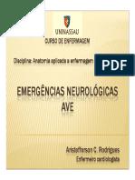 Aula Sobre Emergências Neurológicas - AVE (2) (1)