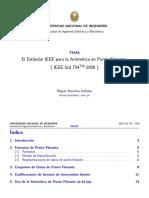 PD_000_El Estandar IEEE Para La Aritmetica en Punto Flotante