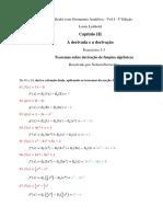 Cap III - O Cálculo Com Geometria Analítica - Vol I - 3ª Edição - Ex 3.3