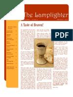 Aug 2010 Lamplighter Newsletter, LaFayette Alliance Church