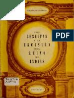 Los Jesuitas y la Escisión del Reino de Indias