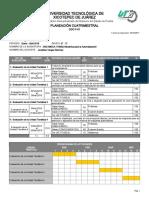 Planeación Cuatrimestral Mecánica Para La Automatización 8C