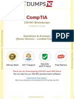 Up-to-Date CompTIA A+ 220-901 IT professionals Exam Questions & Practice Tests
