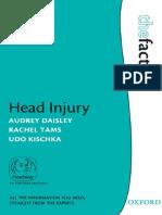 (Facts (Oxford England)) Audrey Daisley, Rachel Tams, Udo Kischka-Head Injury-Oxford University Press (2009)