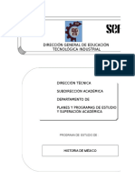 Historia de México Ag. 2001 Pendiente Ver (1)