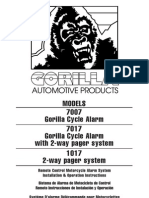 Gorrilla Alarm System Manuel 7017