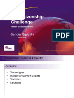 5 Gender Equality Powerpoint
