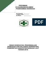 Pedoman Penyusunan Dokumen UPTD Puskesmas Banggai