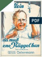 Willi Ostermann - Dä Klein dä muss ene Nüggel han