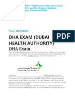 DHA EXAM, DHA LICENSE EXAM, DHA EXAM REGISTRATION PROCESS