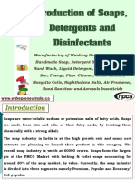 Production of Soaps, Detergents and Disinfectants