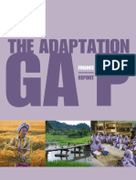 The Adaptation Gap - Finance Report CC
