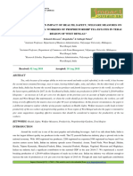 """35. Format. Hum - """"a Critical Study on Impact of Health, Safety, Welfare Measures on Productivity of Tea Workers of Proprietorship Tea Estates in Terai Region of West Bengal"""""""