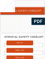 SURGICAL SAFETY CHEKLIST.ppt