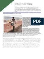 Persoalan Hidup dan Biografi Chairul Tanjung