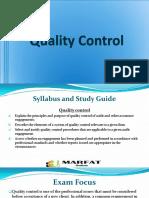 Quality Control P7