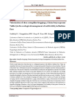 Valorization of shea caterpillar droppings (Cirina butyrospermi Vuillet) in the ecological management of soil fertility in Burkina Faso