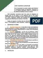MILITARY COURTESY AND DISCIPLINE.docx