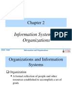 Information Systems Organizations