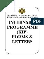 Kirkhs Internship Program Book