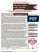 Feb 2010 Family Newsletter, Northeastern District Christian and Missionary Alliance